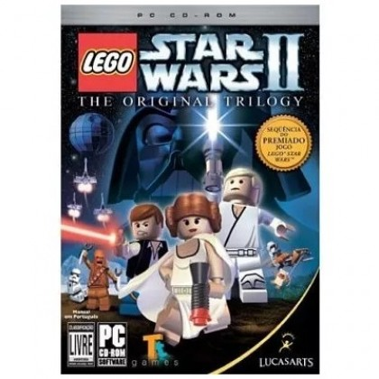 Game LEGO Star Wars II: The Original Trilogy PC CD-ROM LucasArts