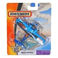 Avião de Combate Matchbox Aqua Patrol Sky Busters - Mattel