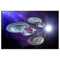 Star Trek USS Enterprise Set Movie - Kit para Montar - AMT/ERTL