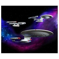 Star Trek USS Enterprise Set TV - Kit para Montar - AMT/ERTL