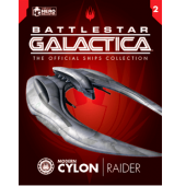 Battlestar Galactica Cylon Raider Edição 2 - Eaglemoss Collections