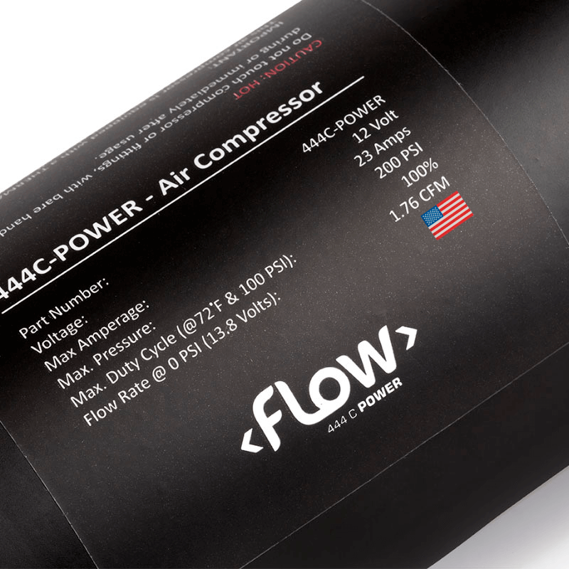 Compressor Flow 444c Power