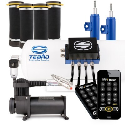 Kit Ar 10mm Bluetooth I-System + Compressor 380