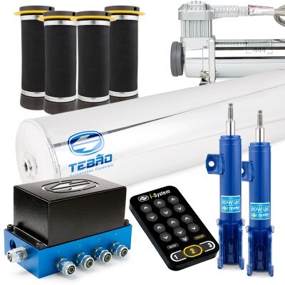 Kit Ar 10mm Bluetooth I-system + Cilindro Alumínio + Compressor 444