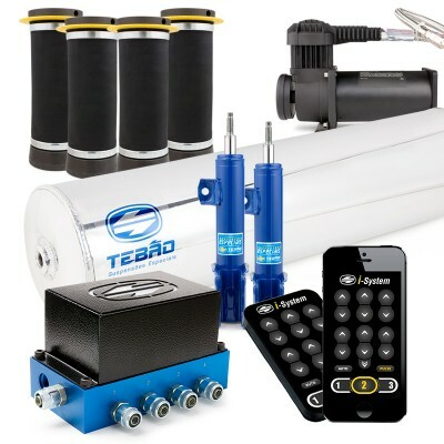 Kit Ar 10mm Bluetooth I-system + Cilindro Alumínio + Compressor 380