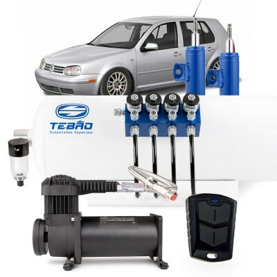 Kit Ar Light Tebão Compressor 380 - 8mm Golf Mk4 1998 à 2013