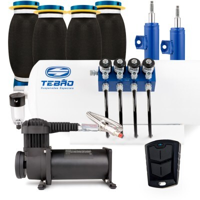 Kit Ar Light Tebão Compressor 380 C/ bolsa Super Soft Gol G5 2009 à 2014