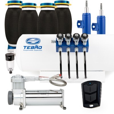 Kit Ar Light Tebão Compressor 444 C/bolsa Super Soft Saveiro G6 2014 à 2016