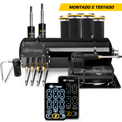 KIT AR V3 I-SYSTEM - MONTADO e TESTADO (STAGE 3) New Civic Batman