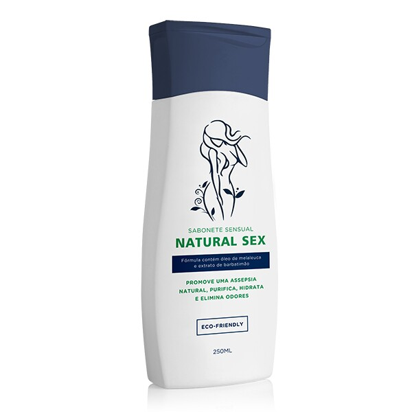Sabonete Intímo Natural Sex Líquido 250ml