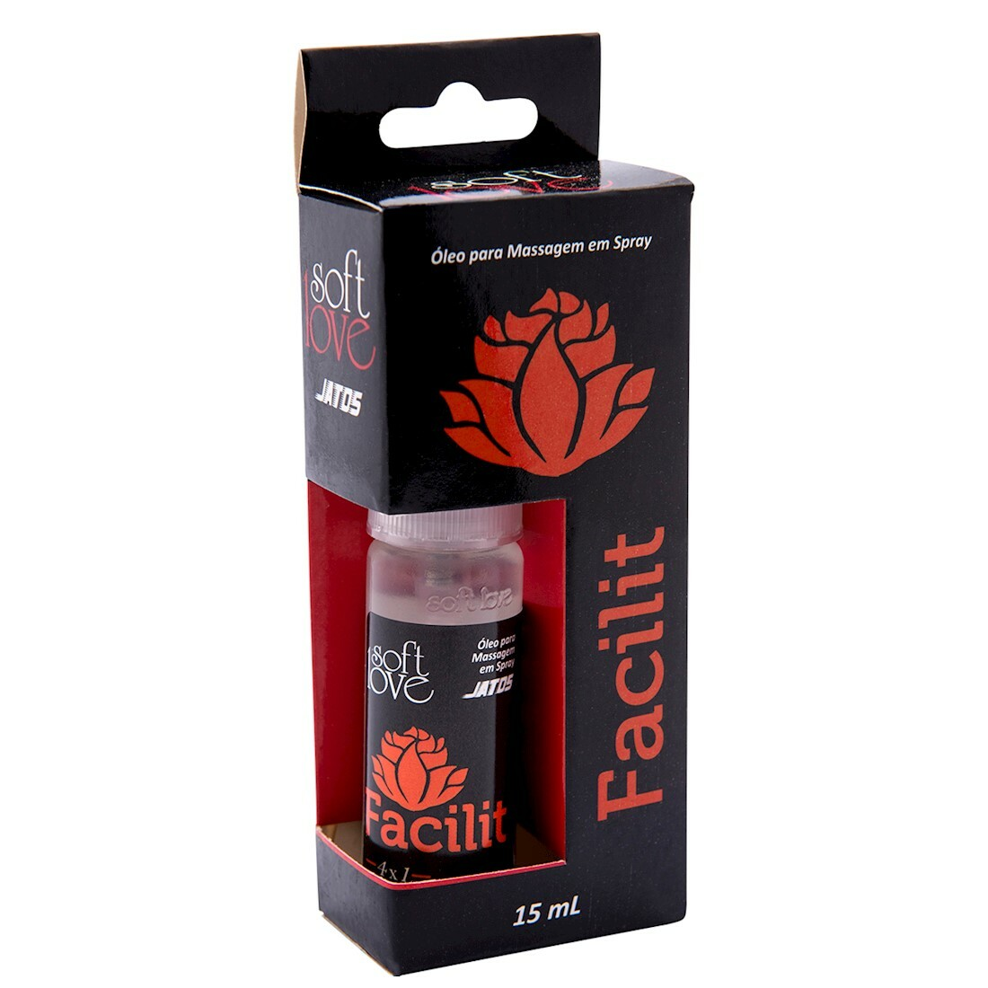 Dessensibilizante Anal Facilit Hot Blackout 15ml Jatos - Soft Love