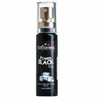 Aromatizante Bucal Power Black 18ml Hot Flowers