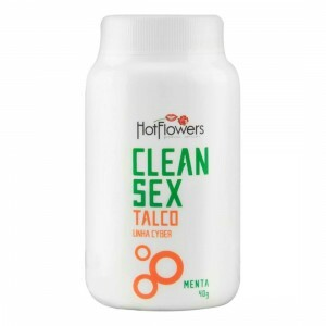 Talco para Cyber Skyn Clean Sex Menta - Hotflowers