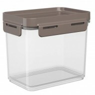 Pote Hermético Flap 600ml Warm Gray Coza 63001/0126