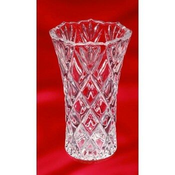 Vaso Walther Glass Saturn Clear G06255 15x24 cm.