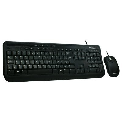 Kit Teclado e Mouse Microsoft Wired Desktop 400 EYD-00007 OEM USB