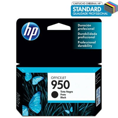 Cartucho HP 950 Preto CN049AL 24ML