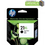 Cartucho HP 21XL Preto C9351CB 12ML