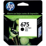 Cartucho HP 675 CN690AL Preto 11ML