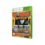 Game Worms Collection: Worms, Worms Ultimate Mayhem e Worms 2 - Xbox 360