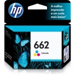 Cartucho HP 662 Advantage Color/ Tricolor - CZ104AB