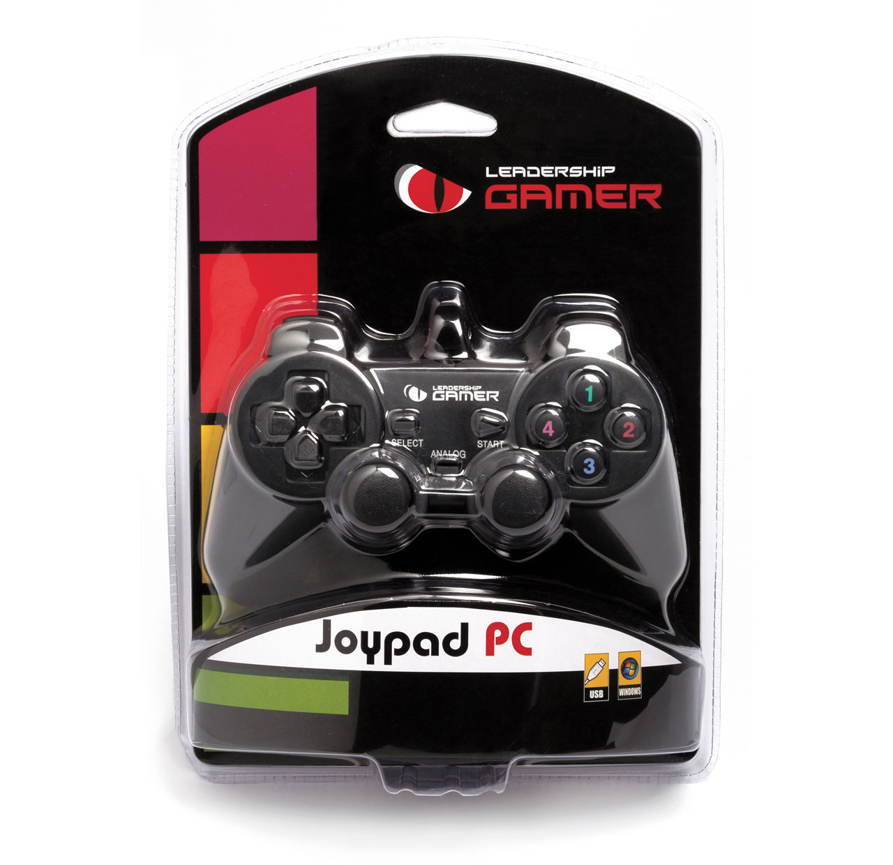 Joystick Leadership PC USB 6644