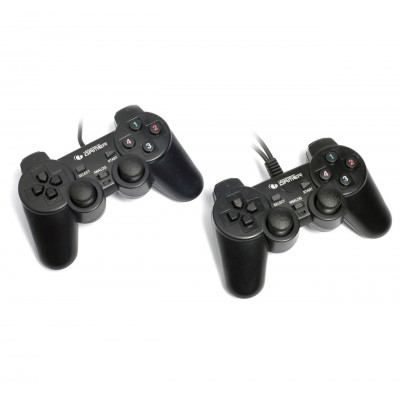 Joystick Leadership Twin Joypad PC USB 2 Controles 6645