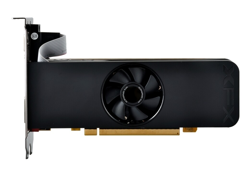 Placa de Vídeo XFX Radeon R7 250 R7-250A-ELF4 4GB/ GDDR3/ 128Bits/ PCI-Express 3.0/ CrossFireX 1050M