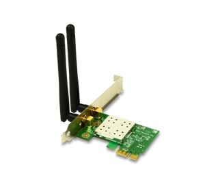 Placa de Rede Wireless Encore 300Mbps com 2 Antenas PCI-E - ENEWI-2XN42