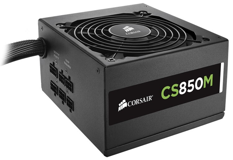 Fonte Corsair 850W CS850M 80 Plus Gold - CP-9020086-WW