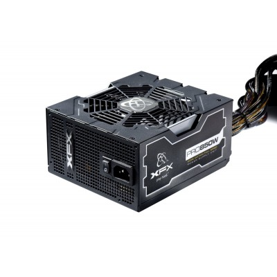 Fonte XFX 850W Real Core Edition FULL Wired 80 Bronze - P1-850S-NLB9