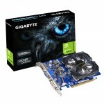 Placa de Video GeForce GIGABYTE GT420 2GB DDR3 - GV-N420-2GI Rev. 3.0