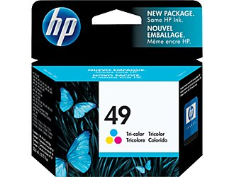 Cartucho HP 49 51649A Color 22ML
