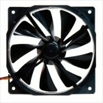 Cooler FAN Xigmatek 120mm (XOF-F1257) - Black EN5506