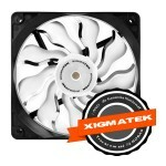 Cooler FAN Xigmatek 120mm XAF-F1252 - Branco CFP-DXGWL-KU2