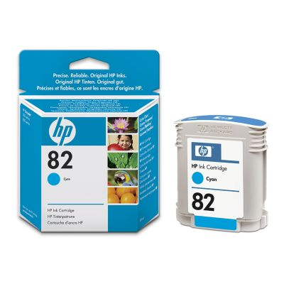 Cartucho HP 82 C4911A Cyan 69ML