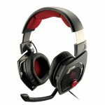 Headset Thermaltake Sposts Shock 3D 7.1 USB Black HT-RSO-DIECBK-13