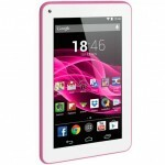 "Tablet Multilaser M7S Rosa, Quad Core, Android 4.4, Dual Câmera, Tela 7"", Wi-Fi, 8GB - NB186"