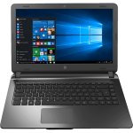 Notebook HP 14-AP020 Intel Core i3 4GB 500GB Tela LED 14 Windows 10 - Chumbo