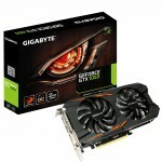 Placa de Vídeo GigaByte GTX 1050 Windforce OC 2GB GDDR5 128Bits GV-N1050WF2OC-2GD