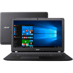 "Notebook Acer ES1-572-323F Intel Core i3/ 4GB RAM/ HDD 500GB/ Tela LED 15.6""/ DVD-RW/ Windows 10 - Preto"