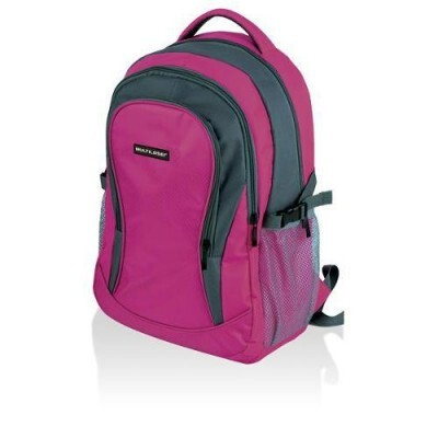 Mochila High School Rosa Multilaser - BO368