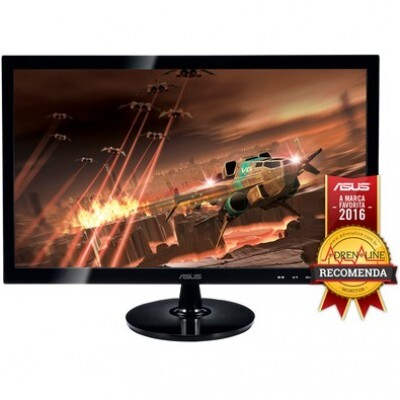 Monitor Gamer LED ASUS 24, Full HD, 2ms, Widescreen, HDMI, Smart View, Alto Contraste, Gaming Mode, HDMI, D-Sub, DVI-D, VS248H-P
