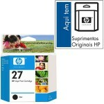Cartucho HP 27 C8727A Preto 10ML