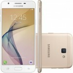 Smartphone Samsung Galaxy J5 Prime SM-G570M, Quad Core 1.4Ghz, Android 6.0.1,Tela 5, 32GB, 13MP, Leitor Digital, Dual Chip, Desbl - Dourado