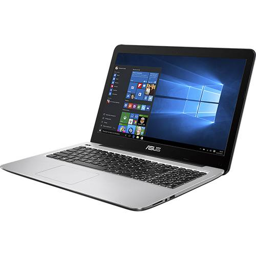 Notebook Asus X556UR-XX477T Intel Core i7/ 8GB RAM/ HDD 1TB/ Tela LED 15.6/ Windows 10 - Preto