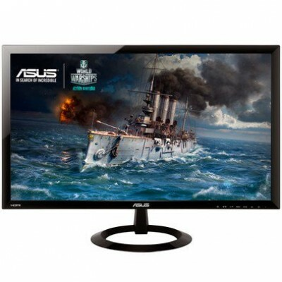 Monitor Gamer LED ASUS 24? Full HD Ultra Slim HDMI Auto-falante Integrado Gaming Mode - VX248H