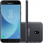 Smartphone Samsung Galaxy J5 Pro SM-J530G/DS, Octa Core, Android 7.0, Tela 5.2, 32GB, 13MP Frontal com Flash, Leitor Digital, Dual Chip, Desbl - Preto
