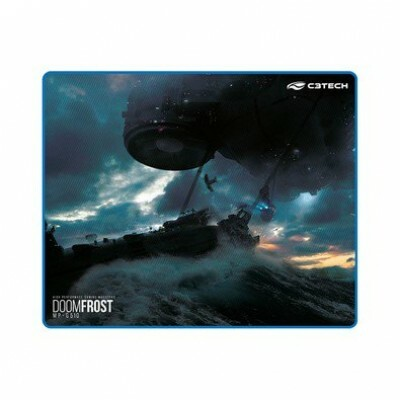 Mousepad Gamer C3 Tech 430x350mm Speed com Borda Costurada MP-G510