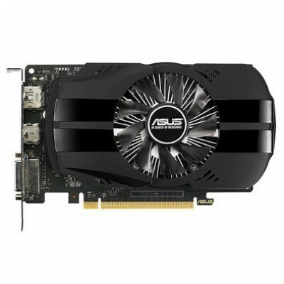 Placa de Vídeo VGA NVIDIA ASUS GEFORCE GTX 1050 TI 4GB GDDR5, Boost Clock 1392 MHz, DVI/HDMI/DisplayPort, Suporte HDCP - PH-GTX1050TI-4G